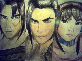 Maxi, Kilik, and Xianghua Finished Version by Beboobaboo
