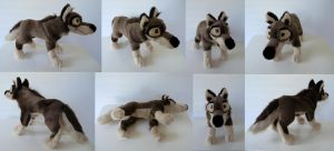 Balto Plushie V.2 by Sariti