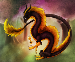 ArtTrade: Golden Lord of Time by Kayrea
