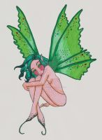 Freckled Green Fairy by racheltorres921