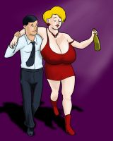 Tipsy MILF-Deluxe Remastered Editor's Cut by darrellsan