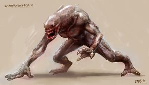 pumpkinhead redesign by 8-000