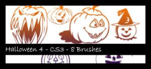 Halloween 4 Photoshop Brush by sabriena