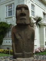 Easter Island Statue 1 by fuguestock