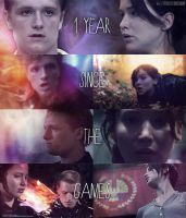The Hunger Games: 1 year! by TributeDesign