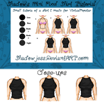 Quick Pixel Shirt Tutorial by shadowjess
