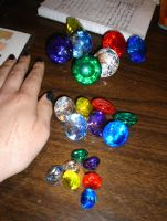 new chaos emeralds by tierafoxglove