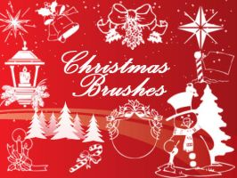 Christmas Brushes Vol.1 by fiftyfivepixels