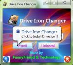 Windows 7 Drive Icon Changer by FunnyFriend2010
