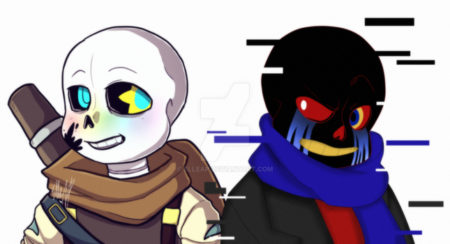 Collab: Ink and Error [Undertale AU] by ElleAP