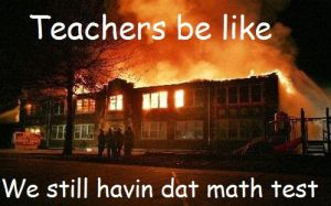 Teachers be like... by Baliya