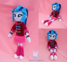 Sonata Dusk Equestria Girls Plush Doll by dollphinwing