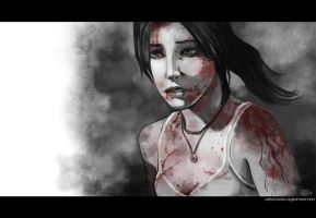 -Lara Croft- by obsceneblue