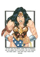 Wonder Woman by AltairA7Vn