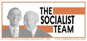 The Go Socialist Team by Conservatoons
