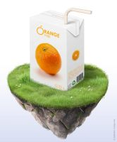 Orange milk: Pack by samuraydesign