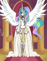 Princess Celestia by Neferity