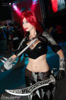 Katarina cosplay Old Splash by adami-langley