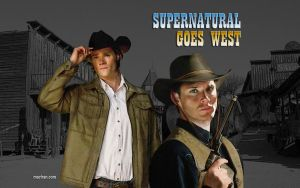 Supernatural Goes West by macfran