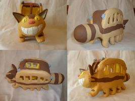 Ceramic Catbus by MilesofCrochet