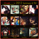 the 2013 improvement yayyy much fun very colours by P-cate