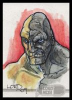 Absorbing Man Sketchcard by lordmesa
