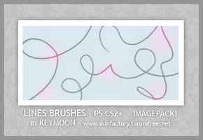 Lines Brushes by KeyMoon