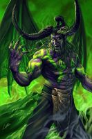 Illidan Stormrage 1 by blackwings736