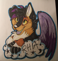 Rhia badge D: by BellaPanther