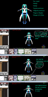 MMD How to make Project Diva Arcade (PDA) Effect by martinnx