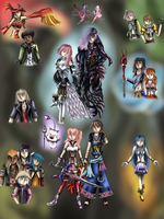 Final Fantasy XIII-2 Poster by WhiteMageOfTermina