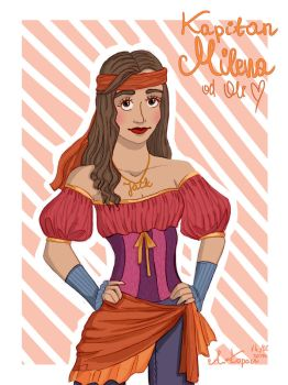 Milena the Pirat by OlaKop