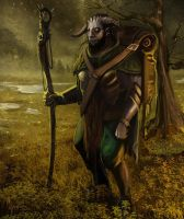Goat man by Exphrasis