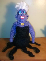Ursula Doll (The Little Mermaid) by catqueen136