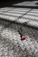 Heart Necklace by khimerra