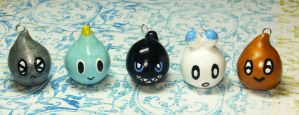 Chao Head Charms by pinknikki