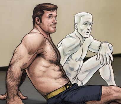 Hank and Bobby - recolored by NMRosario
