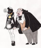 The Mistress is the Maid by 13foxywolf666