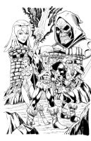 Masters of the Universe Inks by seanforney