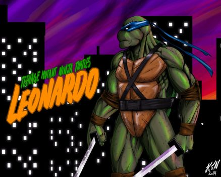 TMNT - Leonardo by thorup