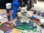 Bentley the Yeti Figurine by GatorArt27