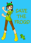 SAVE THE FROGS by flowerbanana