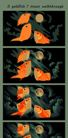 3 goldfish 1 moon walkthrough by griffsnuff