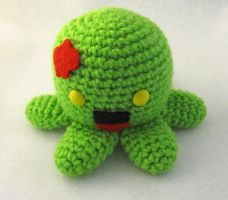 Zombie Octopus Amigurumi by egyptianruin