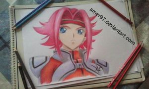 Kallen - Code Geass by Amer97