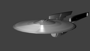 Complete USS Enterprise by Marksman104