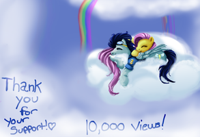 SoarinShy +10k! by dreamerswork