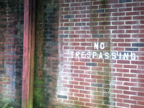 No Trespassing by breatheasily