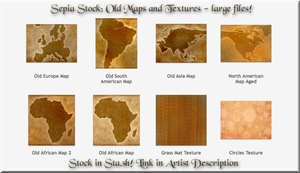 Sepia Stock Preview Pane - Folder in Sta.sh by WDWParksGal-Stock