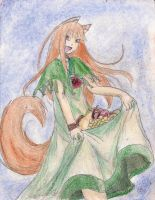 Spice and Wolf by kingofthedededes73